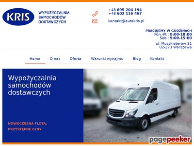 Wynajem busa z kierowcą Krisrentcar.pl