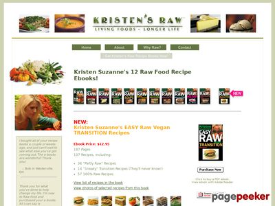 Kristen's Raw – Raw Recipe Ebooks
