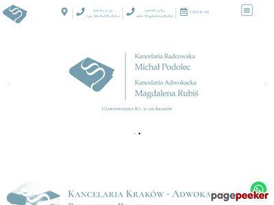 Michał Podolec Kancelaria Radcowska