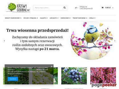 Sklep ogrodniczy - internetowy