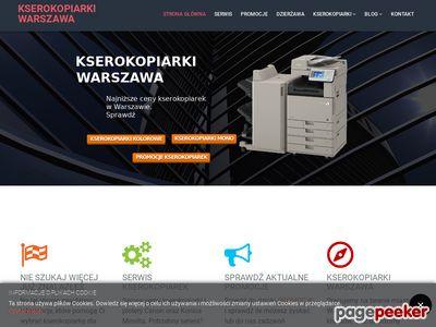 Sprzedaż kserokopiarek - kserokopiarki-warszawa.pl