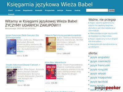 Księgarnia językowa Wieża Babel