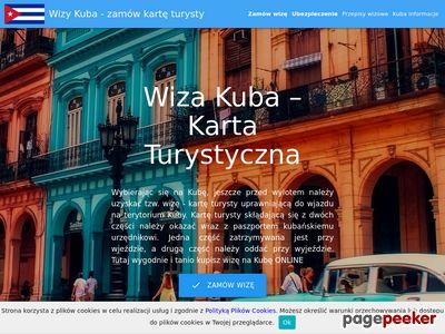 Www.kuba-wiza.pl - karta turysty