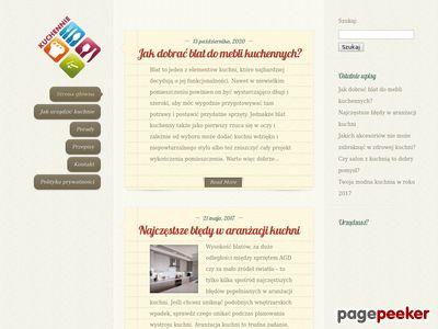 Kuchennie.net.pl Kuchenne aranżacje