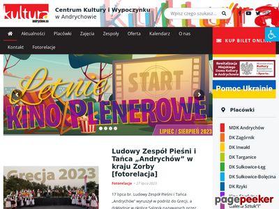 Kultura andrychow.eu - Centrum Kultury i Wypoczynku