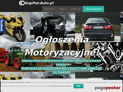 Ogłoszenia motoryzacyjne