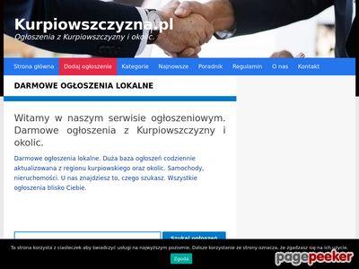 Darmowe ogłoszenia lokalne - Kurpiowszczyzna.pl