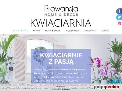 Kwiaciarnia Prowansja - dekaracje ślubne Szczecin