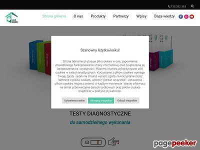 Domowe testy medyczne | LabHome.pl – zbadaj się sam!