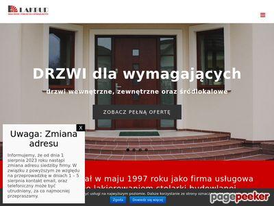Drzwi Kraków. Wejściowe zewnętrzne i wewnętrzne.