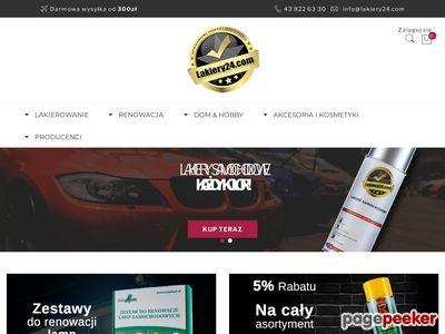 Lakiery24 - lakiery samochodowe w sprayu