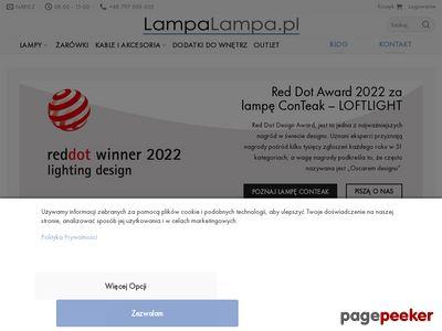 Wybór lamp nowoczesnych salonu