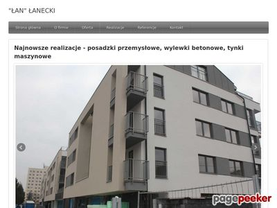 Tynki maszynowe - lanecki.pl