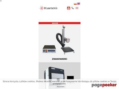 Grawerka laserowa - Lasertechnik