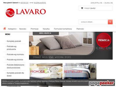 Kup na Lavaro.pl - sklep z kołdrami i pościelą