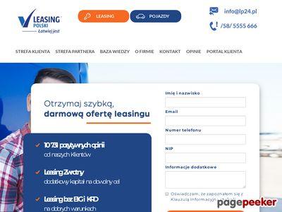 Leasing Polski Sp. z o.o. leasing zwrotny