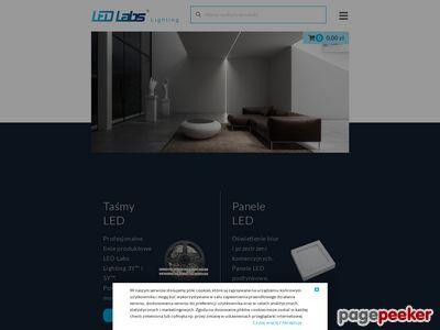 Oprawy sufitowe LED - led-labs.pl
