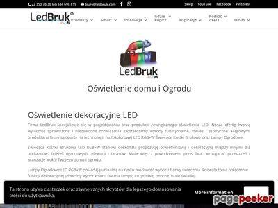 LedBruk- Świecąca Kostka Brukowa