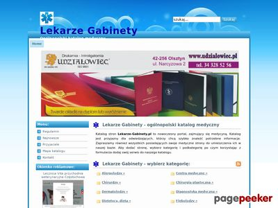 Lekarze-Gabinety.pl - Medycyna i zdrowie