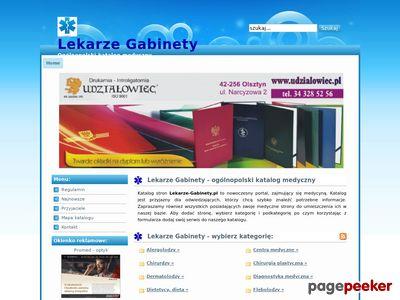 Lekarze Gabinety - katalog medyczny