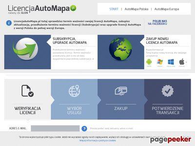 Automapa - licencja