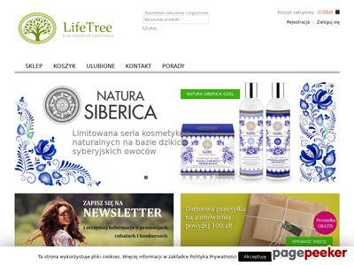 LifeTree - Sklep z kosmetykami naturalnymi