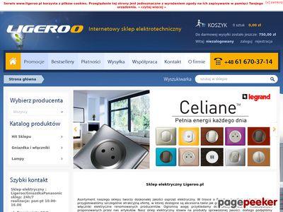 Ligeroo.pl - akcesoria elektryczne