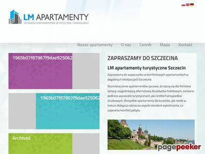 Apartamenty noclegi Szczecin