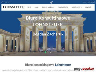 Usługi finansowe - Lohnsteuer