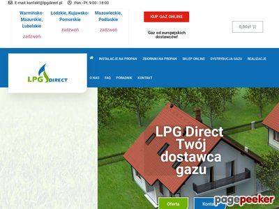 dostawcy gazu - LPG DIRECT