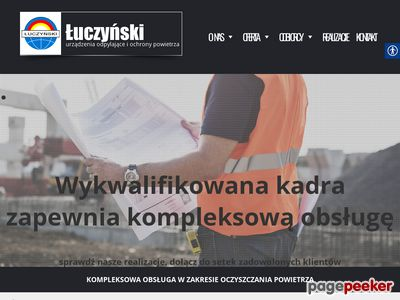 Instalacje odpylające - ZUO Łuczyński