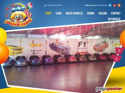 Atrakcje na festyny i eventy dla dzieci - Lunapark Komar