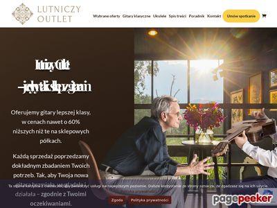 Lutniczy-outlet.waw.pl - klasyczne gitary lutnicze