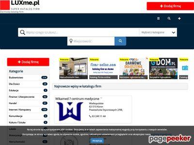 Luxme.pl - katalog stron internetowych