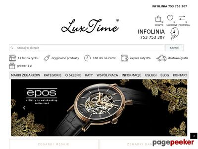 Sklep z zegarkami - LuxTime.pl
