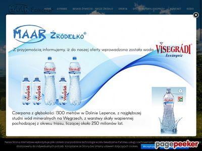 Naturalna woda mineralna - FHU Maar Źródełko