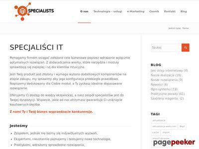 Magento-specialists.pl - magento 2