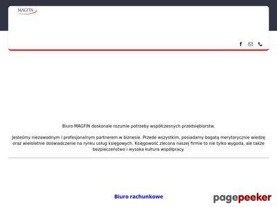 Biuro Rachunkowe MAGFIN - księgowa Warszawa
