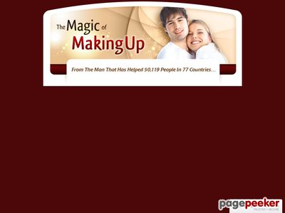 How To Get Your Ex Back – Magic of Making Up