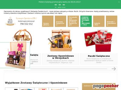 Kosze świąteczne Wrocław - magicznekosze.pl