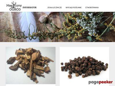Magiczny Ogród | Blog informacyjny o ziołach
