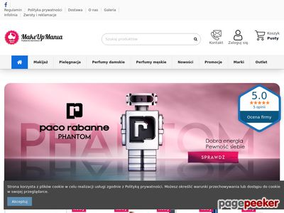 Makeupmania.com.pl - perfumy męskie