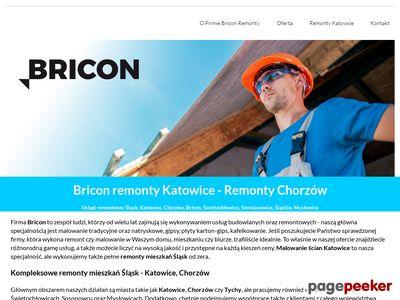 Remonty Chorzów i Katowice z Bricon
