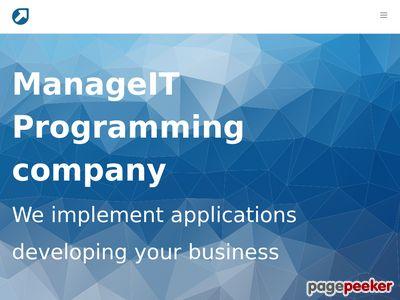 ManageIT | firma informatyczna