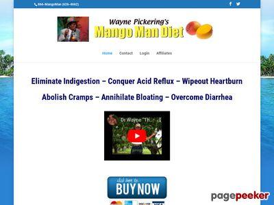 Mango Man Diet - Is your diet a riot!?!?
