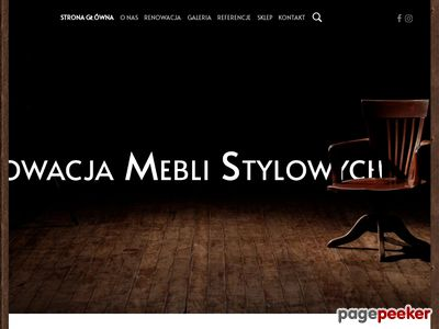Renowacja, naprawa, odnawianie mebli Warszawa