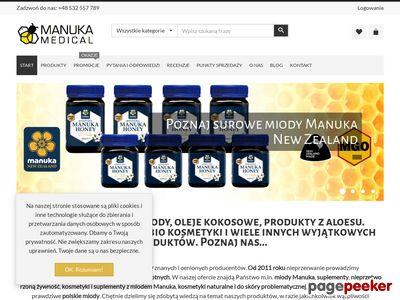 ManukaMedical.pl - orygionalne miody Manuka