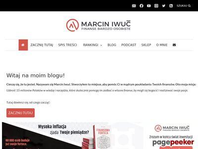 Marcin Iwuć - finanse osobiste