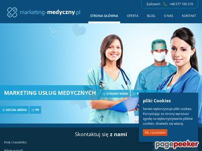 Marketing w służbie medycznej