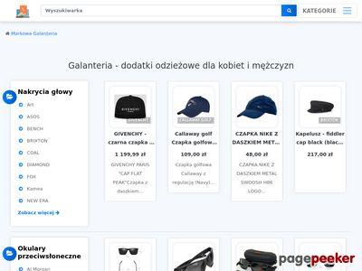 Galanteria - sprzedaż wysyłkowa